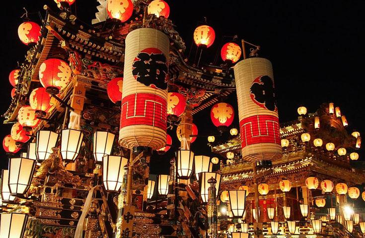 ユネスコ無形文化遺産に登録されている秩父夜祭