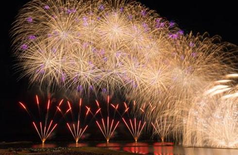 柏崎の大花火大会