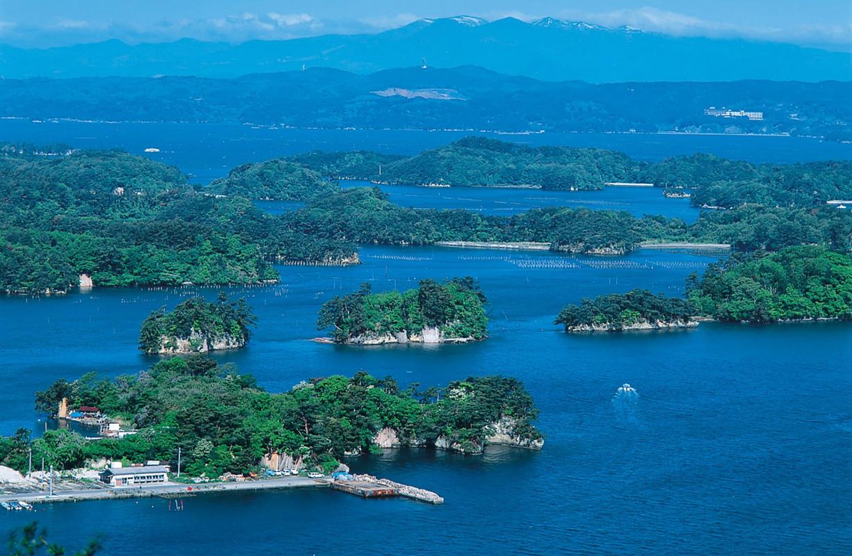 日本三景のひとつ松島へも