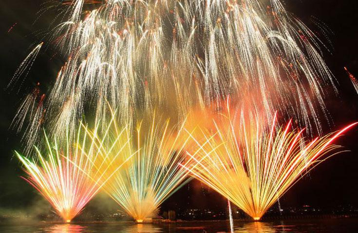 日本最大級の花火大会