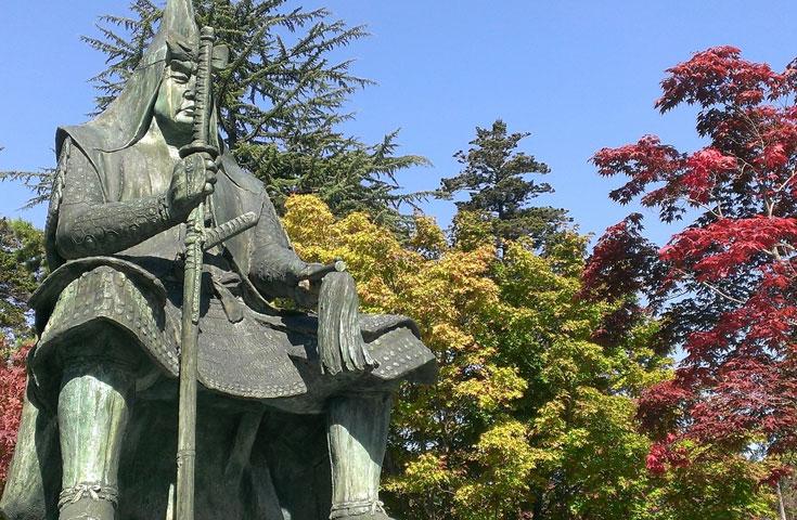 上杉謙信公を祀る上杉神社