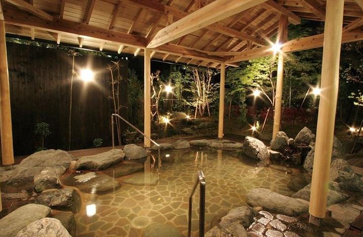 源泉かけ流し温泉「三保園ホテル」