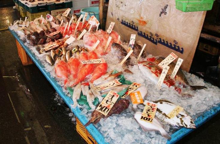 茨城県の海の恵みが集まる那珂湊おさかな市場