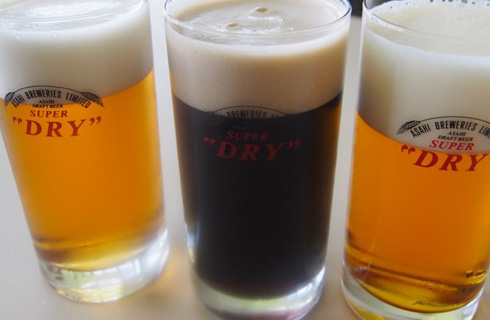 できたてビールがタンブラー3杯(約1リットル)まで試飲できます。