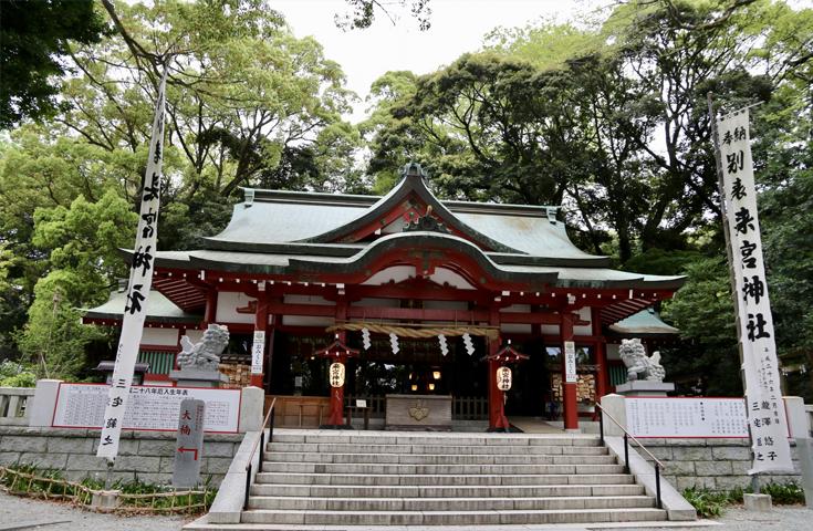 ご利益たっぷりの来宮神社