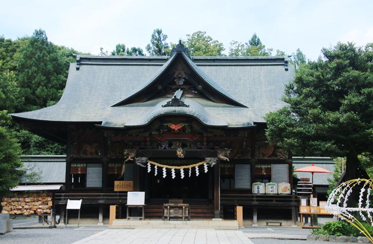 秩父山岳信仰の中心地「秩父神社」