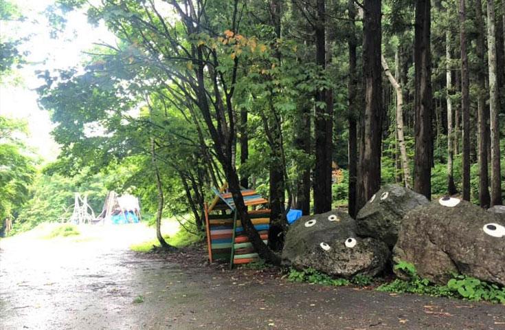 マイナスイオンたっぷりの森林浴も楽しめます!