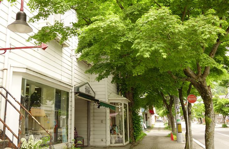 旧軽井沢の街並み