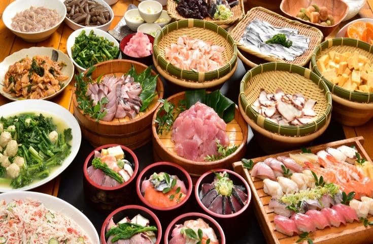 10種の特選握り寿司食べ放題