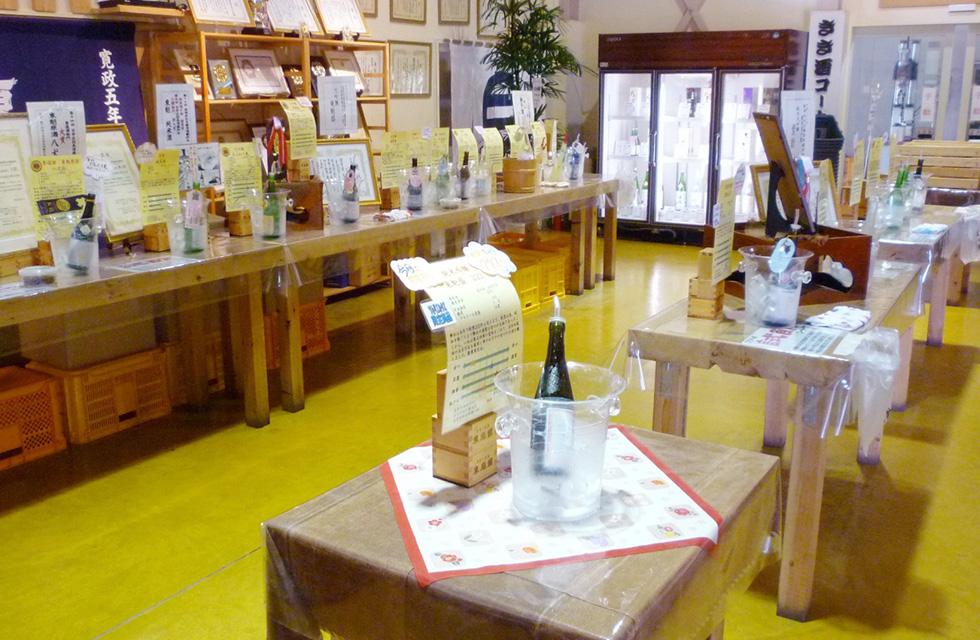 創業200年の伝統の酒蔵を見学