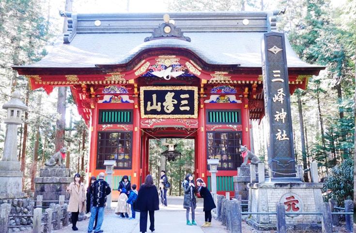 関東最強のパワースポットのひとつ!三峯神社
