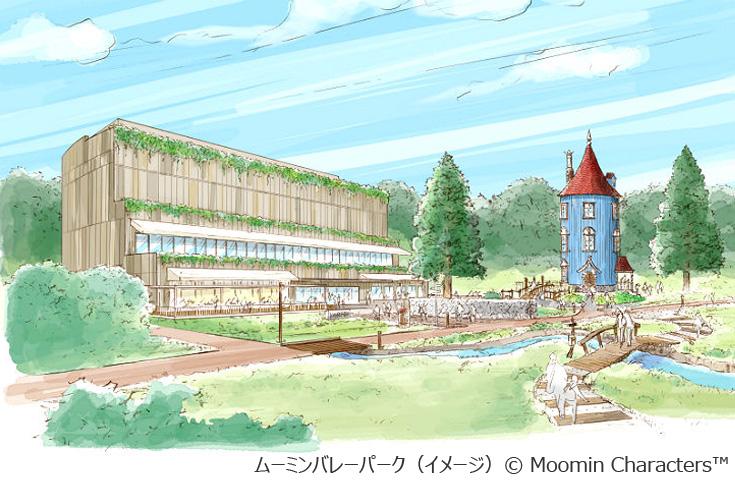 ムーミンバレーパーク(イメージ) (c)Moomin Chracters TM