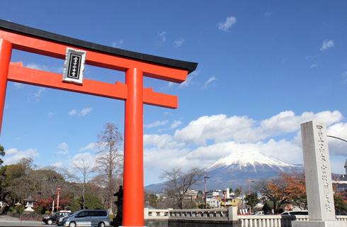 『富士山本宮浅間大社』で参拝