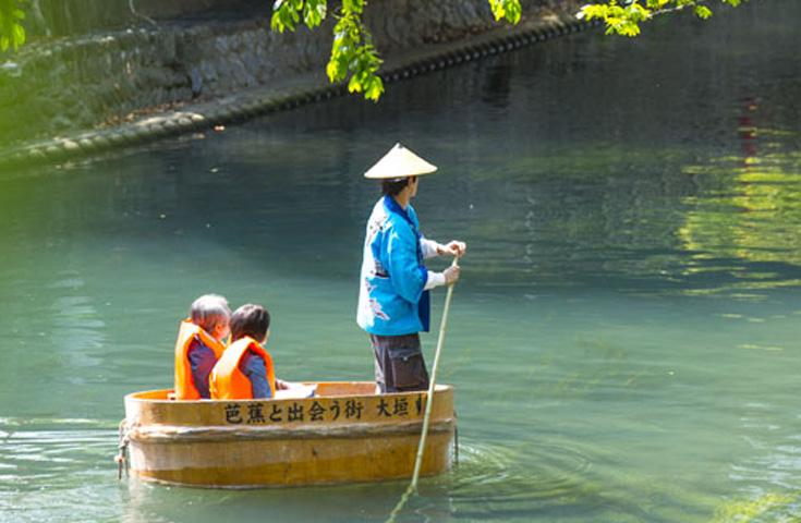 水の都おおがきたらい舟