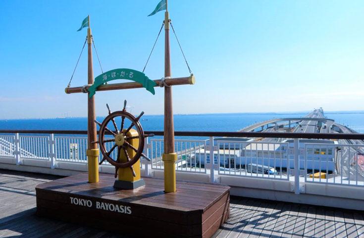 東京湾に浮かぶ大人気の海ほたる!展望デッキ・幸せの鐘などインスタ映えするスポットがいっぱい!