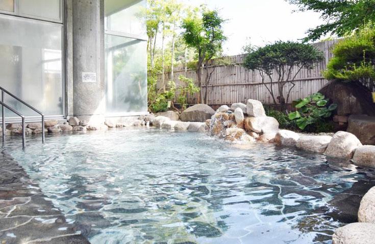 「美人の湯」花かげの湯での入浴