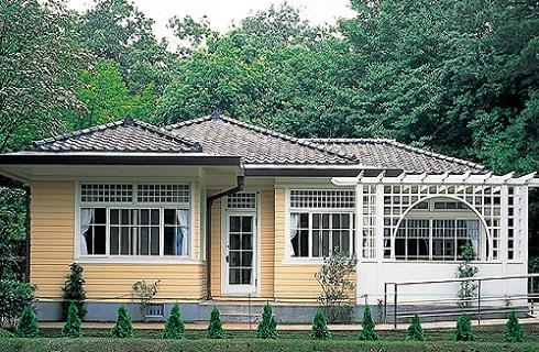 江戸東京たてもの園で古き良き時代を垣間見る事ができます