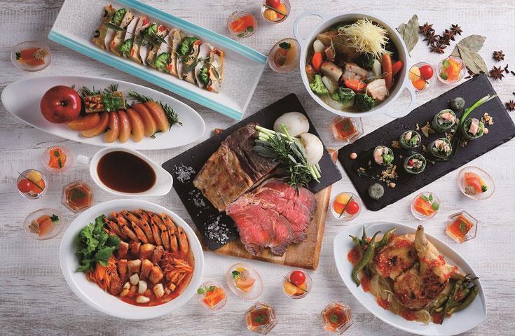 京のパノラマが広がるラウンジがら最高のブッフェを!