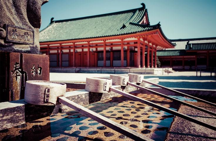 国の登録有形文化財になっている平安神宮