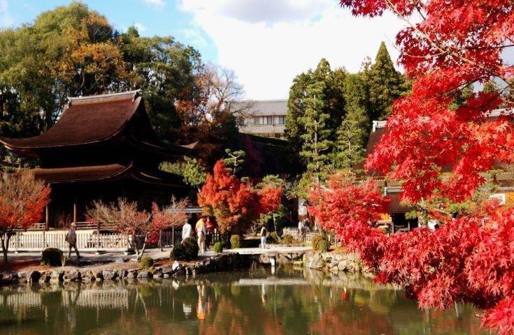 景色に癒される「虎渓山永保寺」