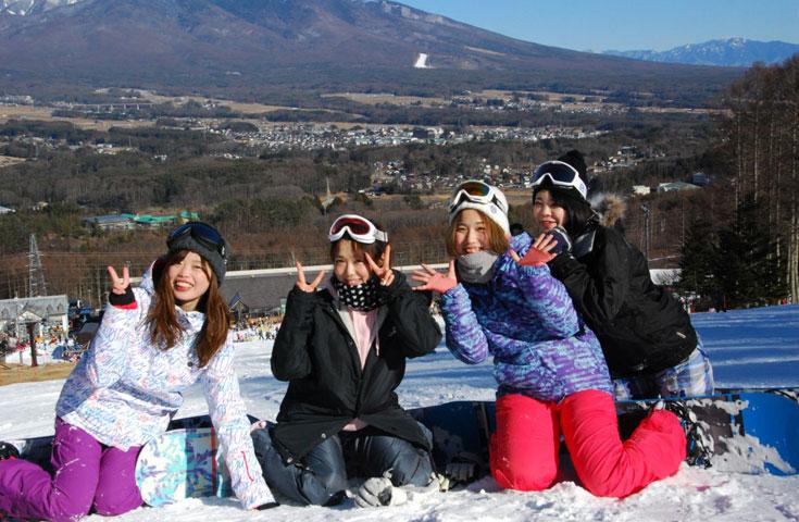 富士見パノラマリゾートのゲレンデで恋をしよう!