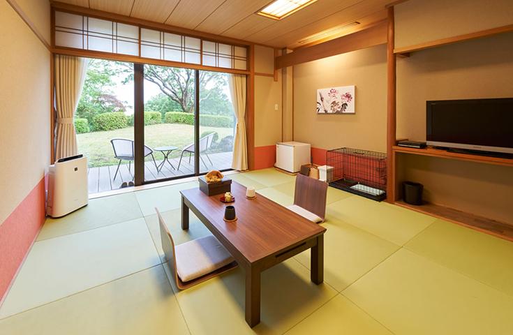 ペット&スパホテル 伊豆ワンに宿泊(お部屋一例)
