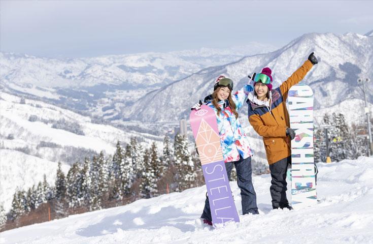 雪質抜群のゲレンデは初心者でもロングラン可能!