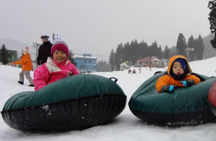 楽しく雪と戯れるパークも充実
