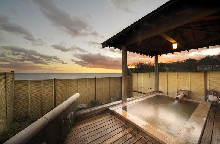 稲取温泉の良質な温泉もご堪能