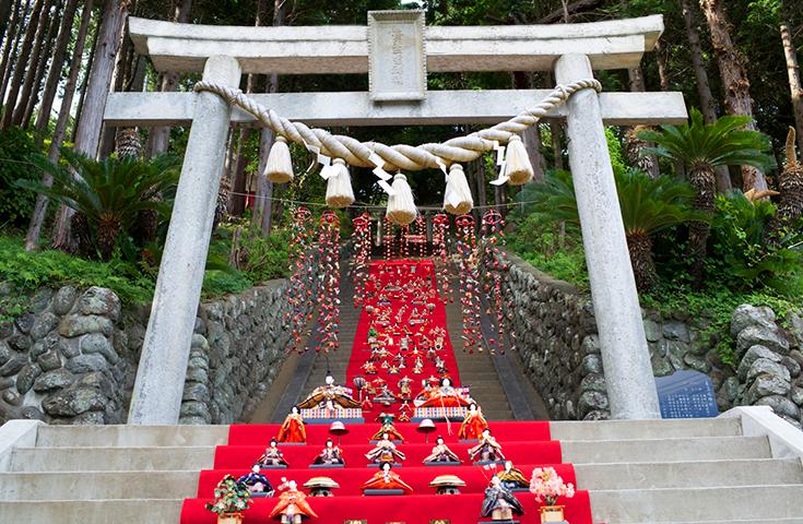伊豆稲取温泉 雛のつるし飾り