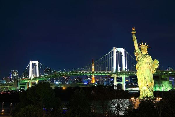 【都民割引キャンペーン】[VIP view Tour] ベイコース 【18:20発】オープントップで壮快!東京見学<GPS付自動音声ガイドシステム搭載>