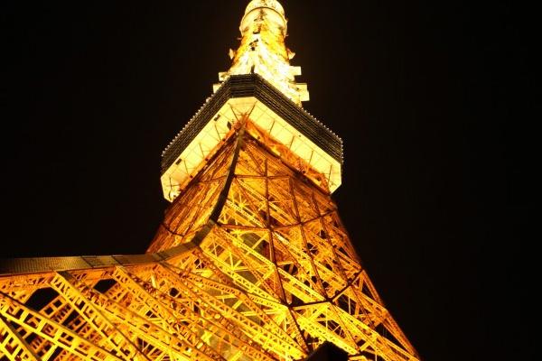 ランドマークライトの東京タワー
