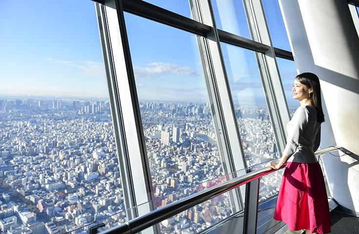 都内一望の絶景(C)TOKYO-SKYTREE
