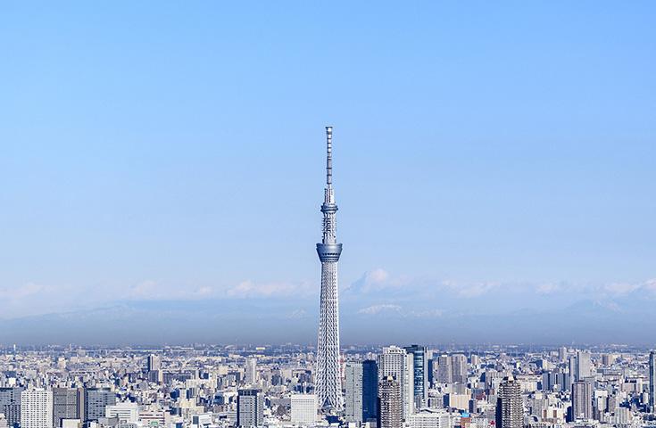 世界一高い電波塔『東京スカイツリー』(C)TOKYO-SKYTREE